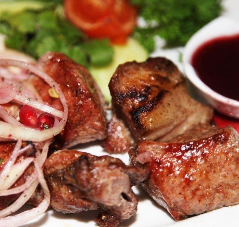 Рецепт шашлыка из свинины в гранатовом соке