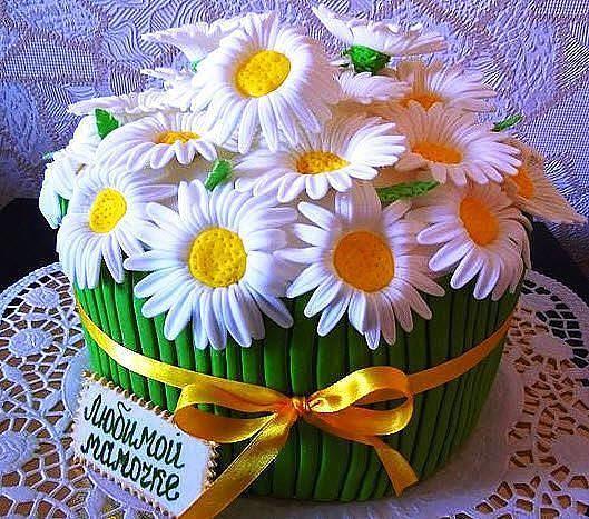 Торт для мамы своими руками фото