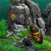 Аквамир - 3D аквариум скриншот 3
