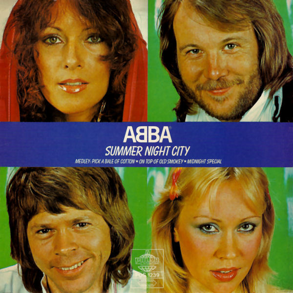 Скачать mp3 abba summer night city