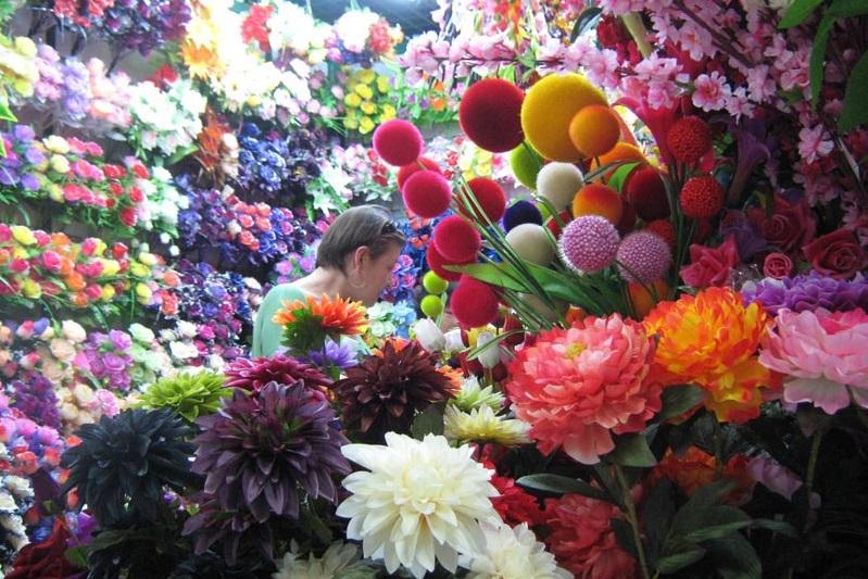 Китайские цветы дешево оптом, курьер доставка псков
