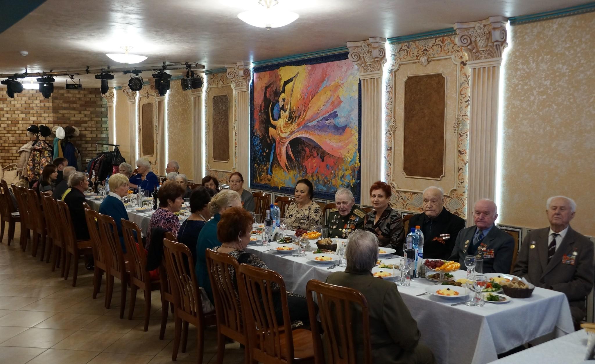 Встреча ветеранов Металлургического района