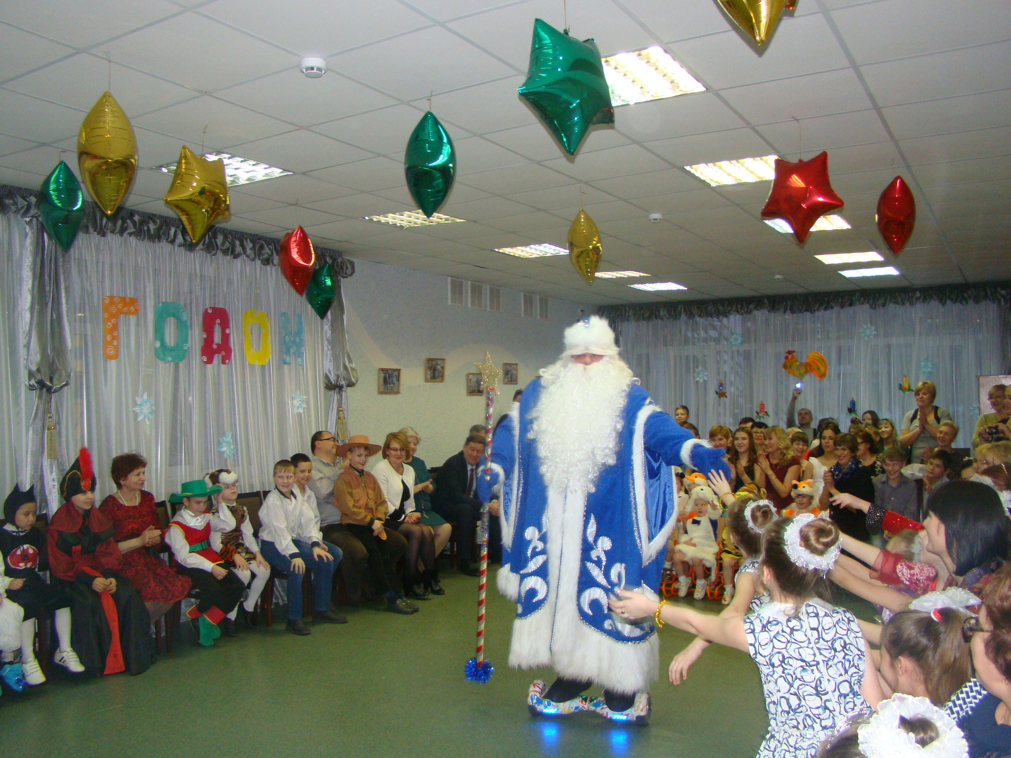 Новогодний праздник в СРЦ
