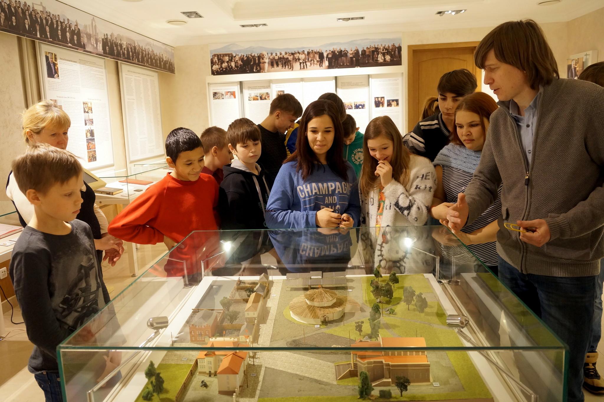 Посещение музея Законодательного Собрания Челябинской области
