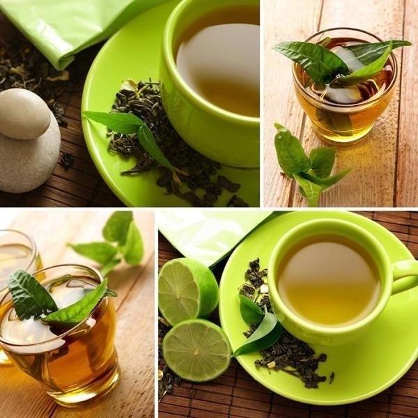 Как маски из зеленого чая влияют на кожу лица
