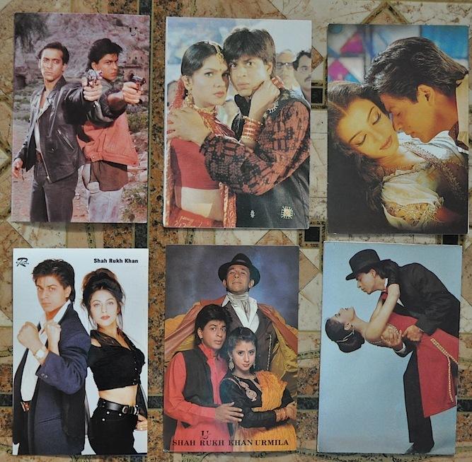 Как делают цифровые открытки с индийскими актерами, открытки